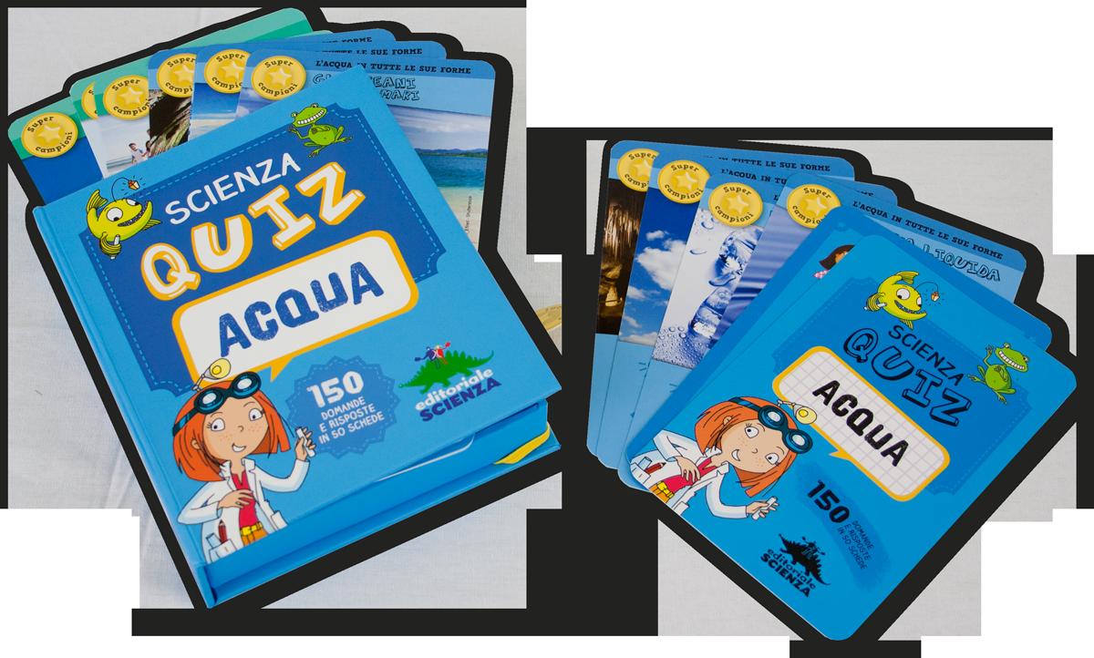Quiz Ecologia Per Bambini scienza quiz - acqua | editoriale scienza