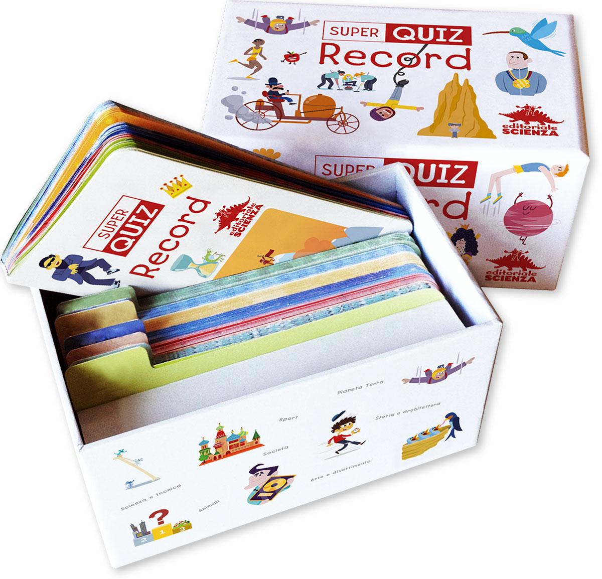 Quiz Ecologia Per Bambini super quiz – record: libro e gioco sui record per bambini