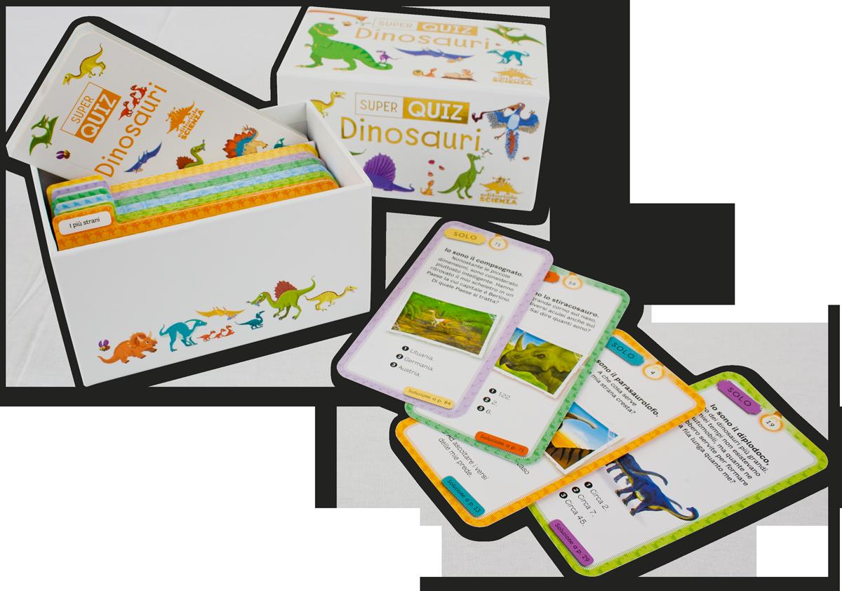 Quiz Ecologia Per Bambini super quiz - dinosauri | editoriale scienza