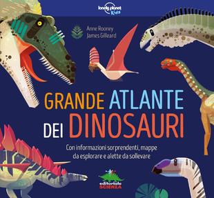 Grande atlante dei dinosauri: libro per bambini da 8 anni ...