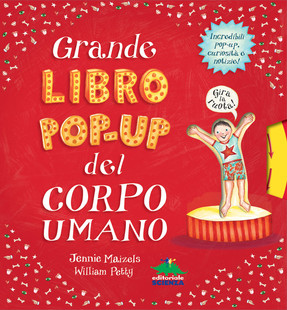 Grande libro pop-up del corpo umano - copertina